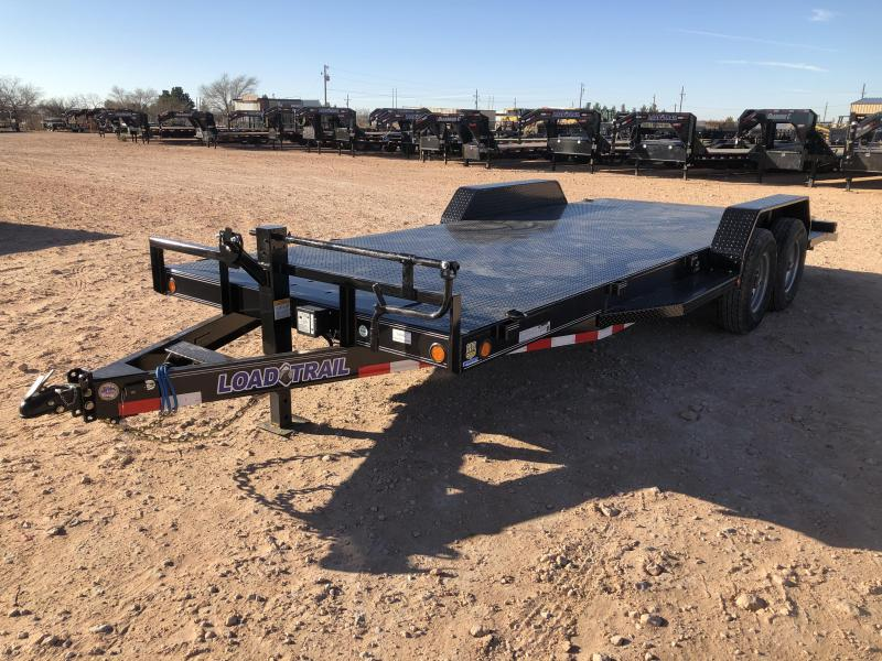 2020 Load Trail 14K Steel Deck carhauler/ Equipment Hauler