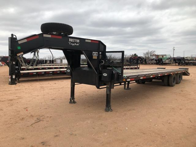 2015 Bruton Trailers 102 X 32 24K Equipment Trailer