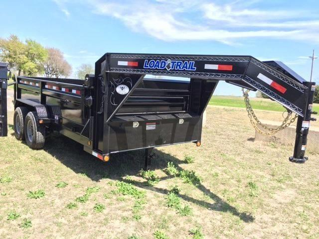 "2020 Load Trail 83"" x 14' Gooseneck w/ Scissor Lift"