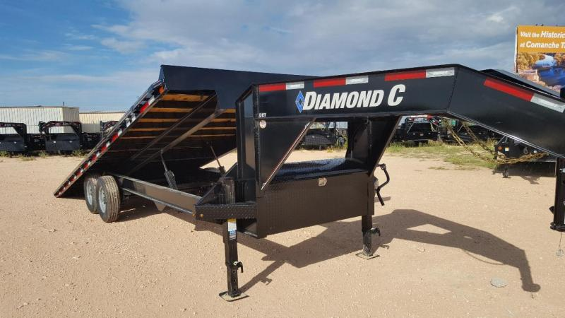 "2019 Diamond C Trailers 2019 DIAMOND C 24'X102"" Flatbed Trailer"