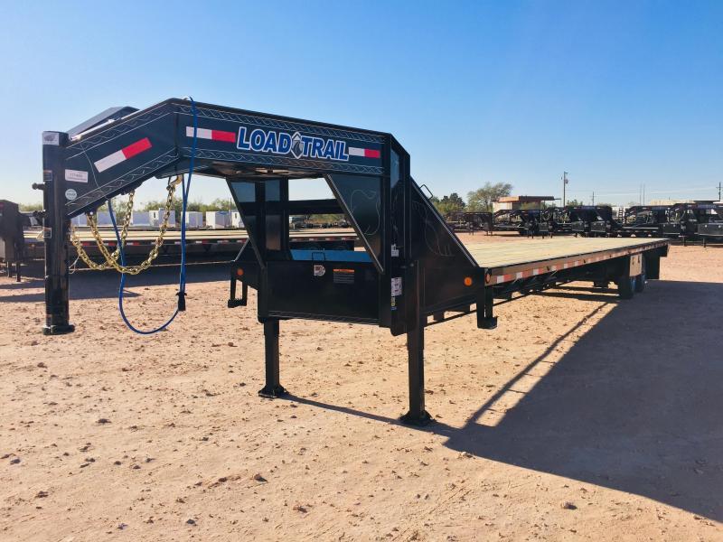 2019 Load Trail 102 x 40' Air Ride W Lift Axle Disc Brakes