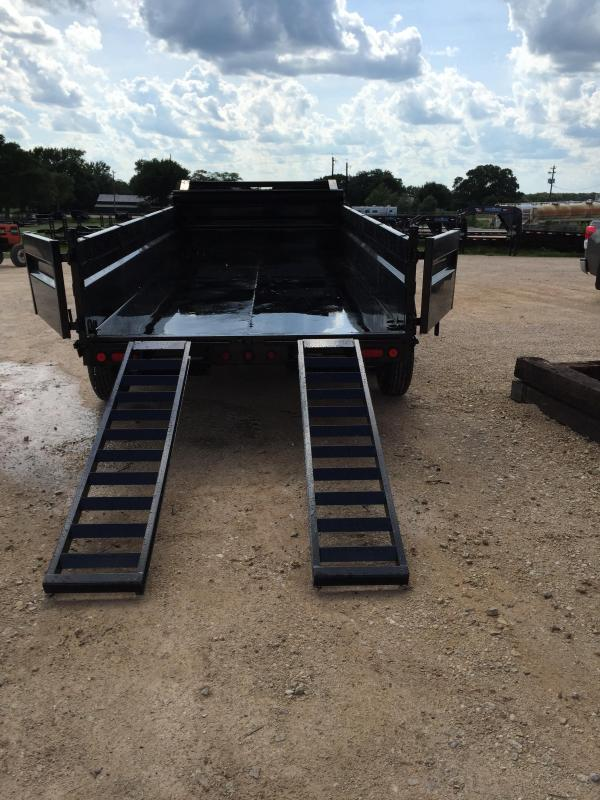 "2018 Load Trail 83"" X 16' Tandem Axle Gooseneck Dump Dump Trailer"