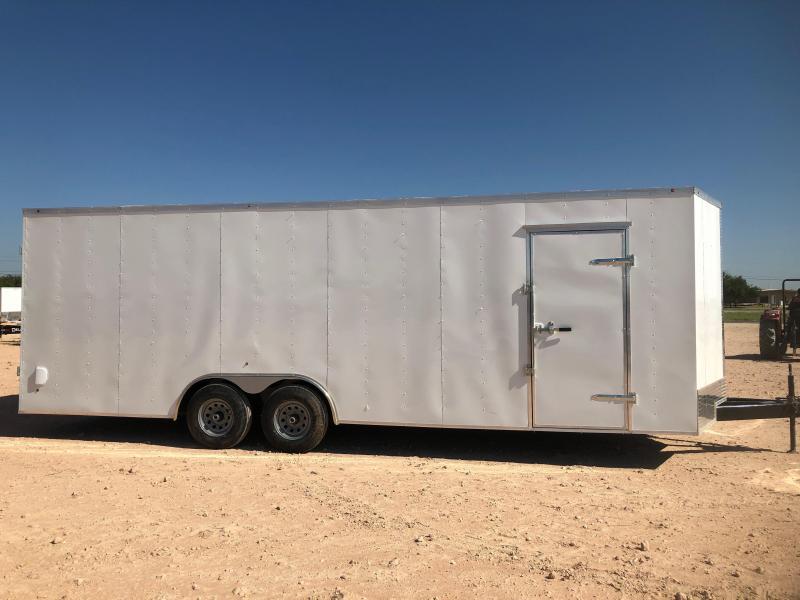 2019 Salvation Trailers 8.5'X24' ENCLOSED Enclosed Cargo Trailer