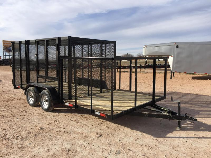 2020 Salvation 83x 16 Port a Potty Trash Trailer Utility Trailer