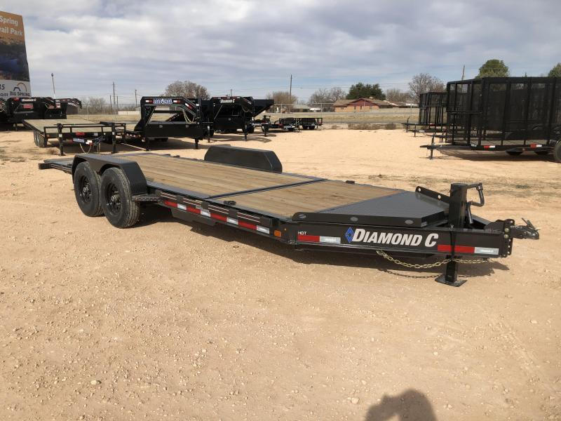 "2019 Diamond C Trailers 20'X82"" Tilt Trailer"