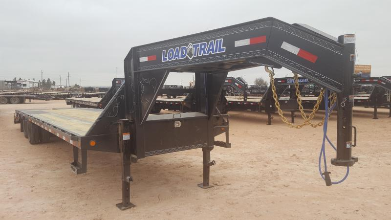 2019 Load Trail 32' Low Pro Gooseneck Max Ramps