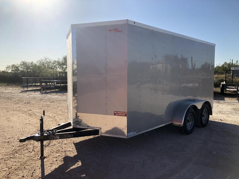 2020 Salvation Trailer 6 X 12 TA Enclosed Rear Ramp