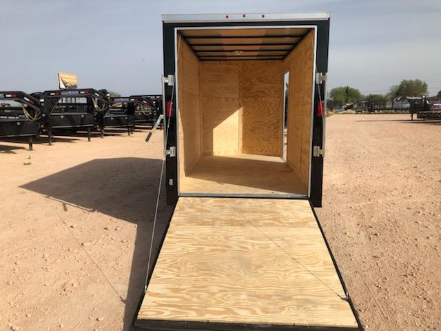 2020 Salvation Trailer 6 X 12 SA Enclosed Rear Ramp