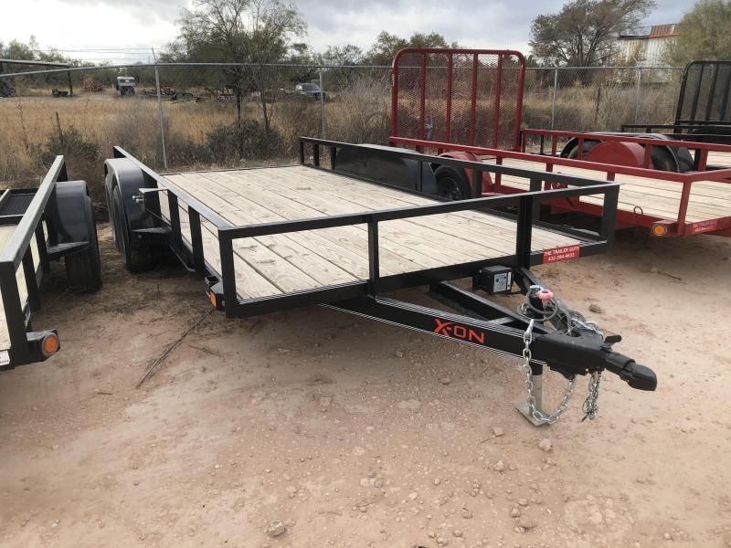 2019 X-On 83X16 Utility Trailer