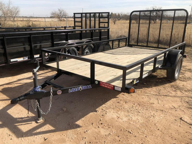 "2019 Load Trail 77""X12 SINGLE AXLE Utility Trailer"