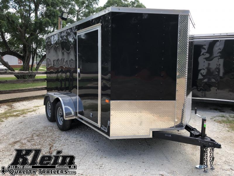 2020 Rock Solid Cargo 7X12 TA Enclosed Cargo Trailer