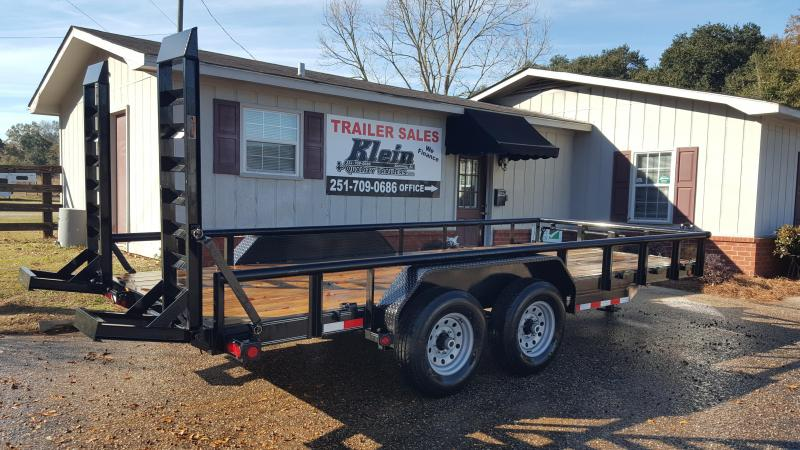 2020 Load Trail 83x18 Tandem Axle Equipment Trailer