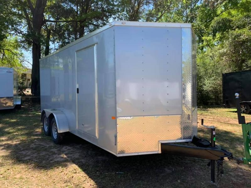 2020 Rock Solid Cargo 7x14 Tandem Enclosed Cargo Trailer