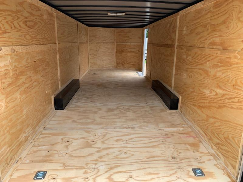 2020 Rock Solid Cargo 8.5X24 Tandem Enclosed Cargo Trailer