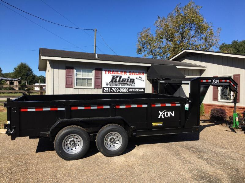 2020 X-On 83X14 Gooseneck Dump Trailer
