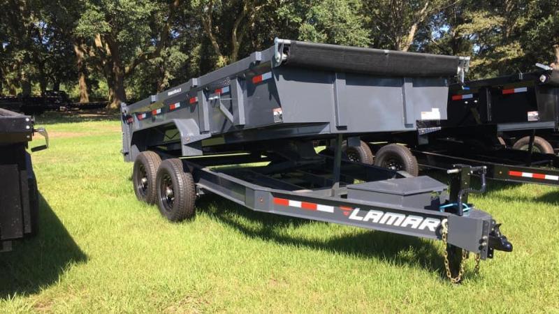 2020 Lamar Trailers 83X14 Dump Trailer