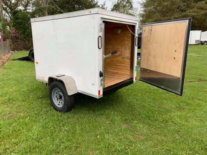 2020 Rock Solid Cargo 4x6 Enclosed Trailer Enclosed Cargo Trailer