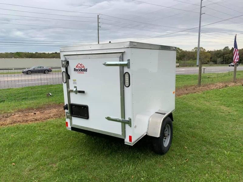 2020 Rock Solid Cargo 4x6 Enclosed Trailer Enclosed Cargo Trailer
