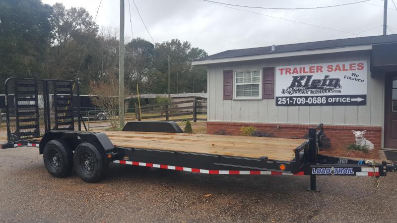2020 Load Trail 83x22 Tandem Axle Equipment Trailer