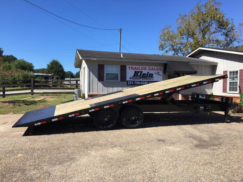 2020 Load Trail Tilt Deck 102x24 Equipment Trailer