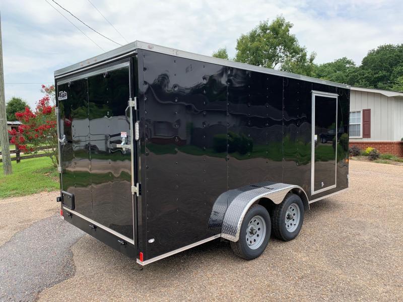 2020 Rock Solid Cargo 7x16 Enclosed Cargo Trailer