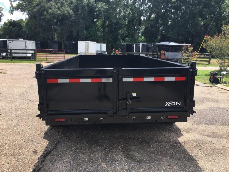2020 X-On 83x14 Bumper Pull Dump Trailer