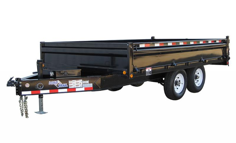 2019 Load Trail 96x16 Pintle Hook Dump Dump Trailer