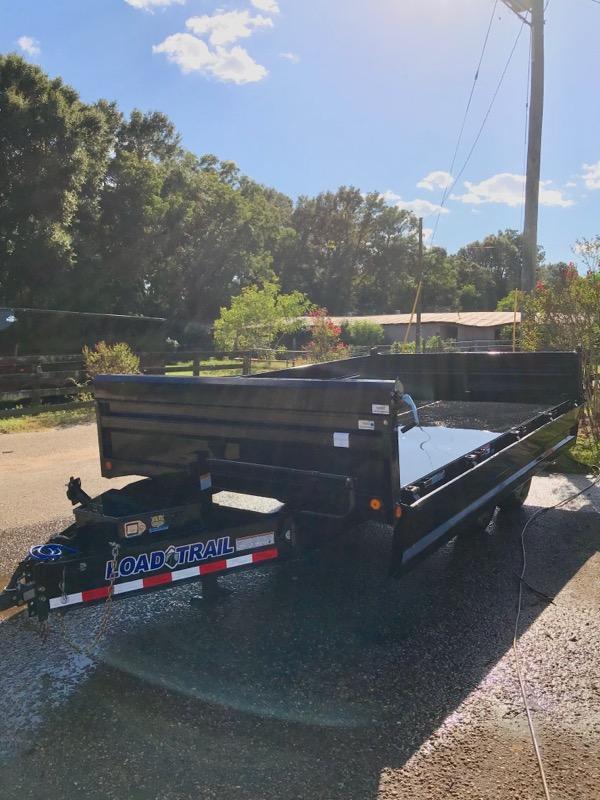 2019 Load Trail DZ14 96 x 14 Dump Trailer