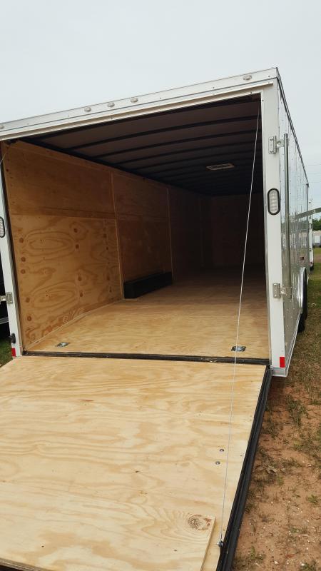 2020 Rock Solid Cargo 8.5x28 Enclosed Cargo Trailer