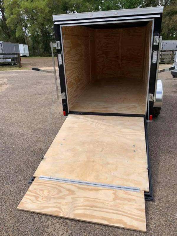 2020 Rock Solid Cargo 5x10 SA Enclosed Cargo Trailer