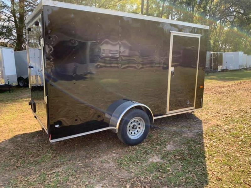 2020 Rock Solid Cargo 6x12 Single Axle Enclosed Cargo Trailer