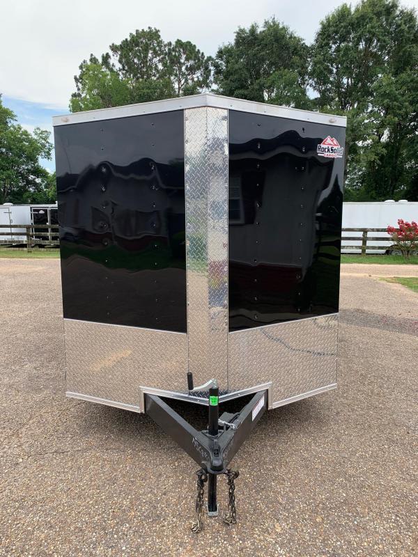 2020 Rock Solid Cargo 7x16 Barn Doors Tandem Axle Enclosed Cargo Trailer