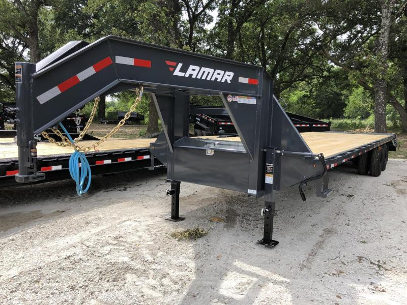 2020 Lamar Trailers 102x32 Deckover Equipment Trailer