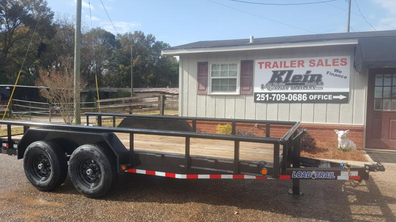 2020 Load Trail 83x16 Tandem Axle Equipment Trailer