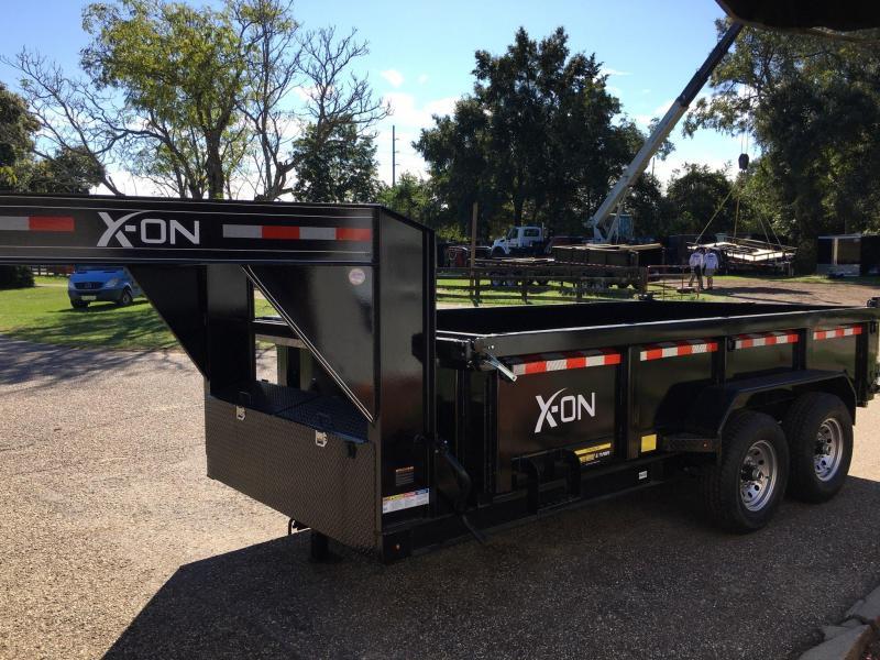 2020 X-On 83x14 Gooseneck Dump Trailer