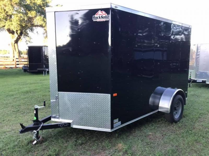 2020 Rock Solid Cargo 6x10 SA Enclosed Cargo Trailer