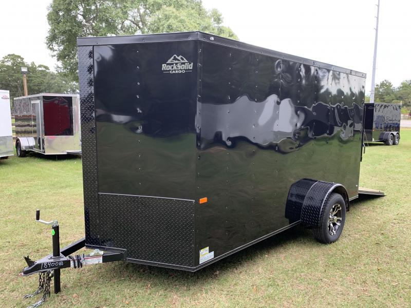 2020 Rock Solid Cargo 6x12 Single Alxe Enclosed Cargo Trailer