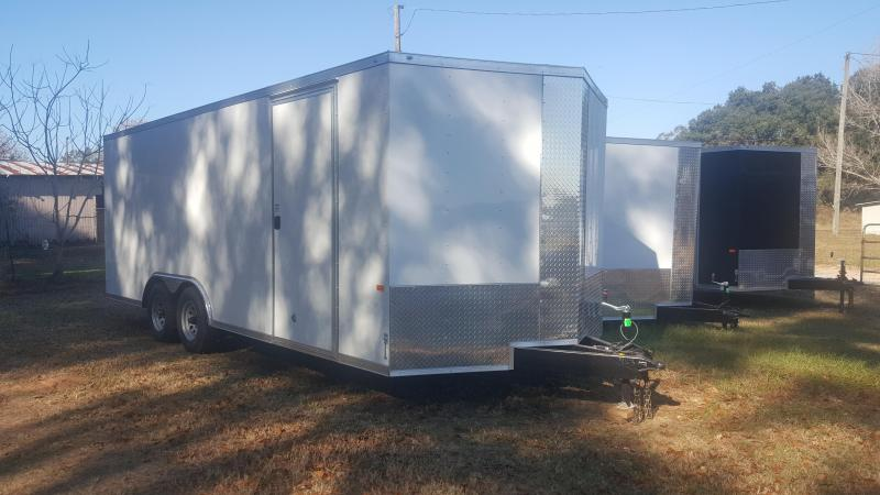 2020 Rock Solid Cargo 8.5x20 5200lb Axles Enclosed Cargo Trailer
