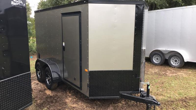 2020 Rock Solid Cargo 6x12 Tandem Axle Enclosed Cargo Trailer