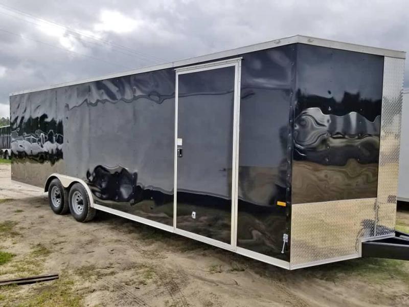 2020 Rock Solid Cargo 8.5x20 Enclosed Cargo Trailer