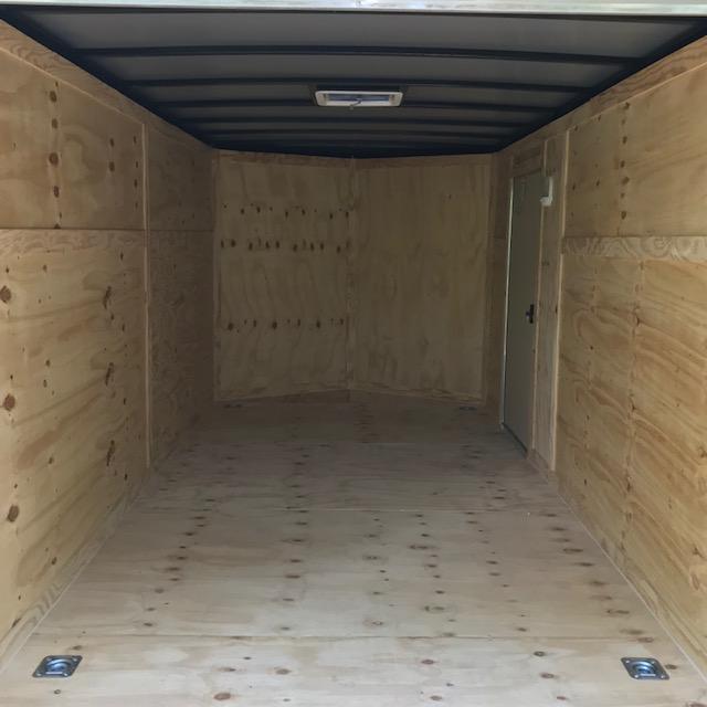 2020 Rock Solid Cargo 7x14 Tandem Axle Enclosed Cargo Trailer
