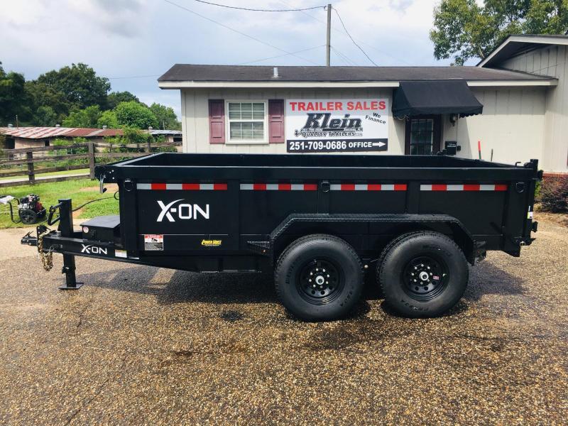 2019 X-On 83x12 Dump Trailer