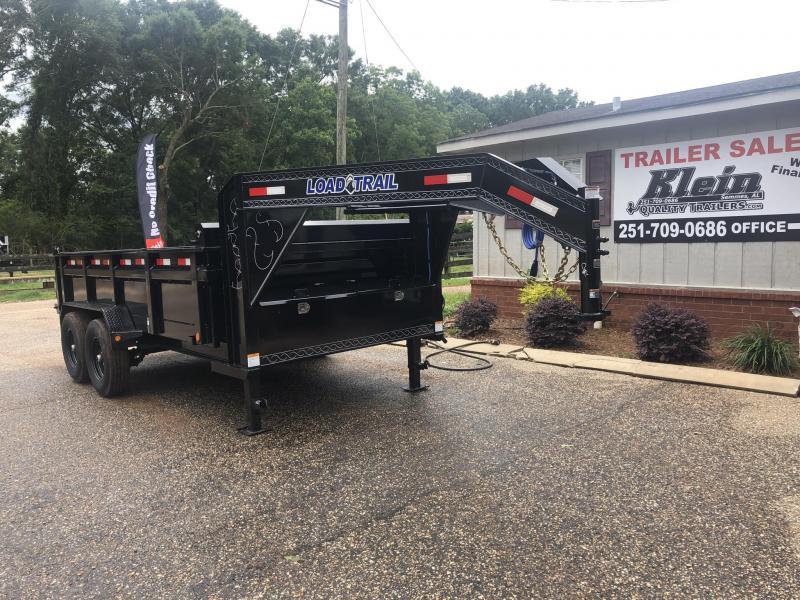 2020 Load Trail 7X14 Gooseneck Dump Trailer