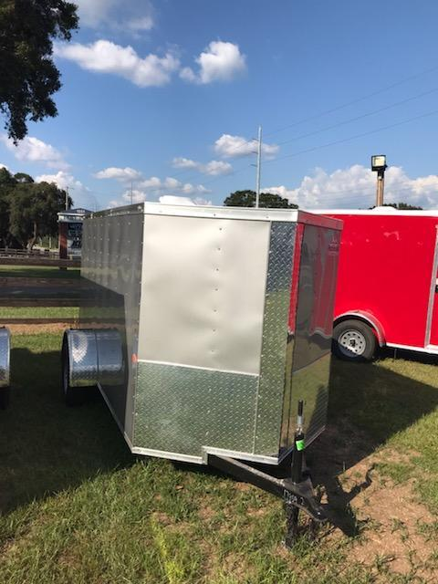 2020 Rock Solid Cargo 5x10 SA Enclosed Cargo Trailer