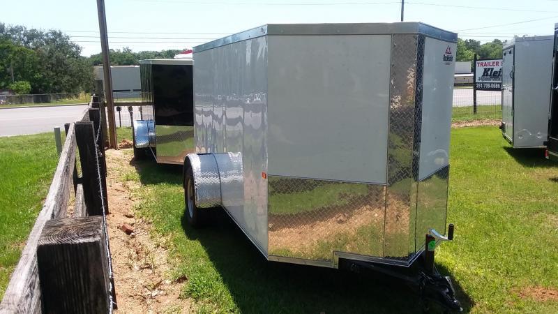 2020 Rock Solid Cargo 5x10SA Enclosed Cargo Trailer