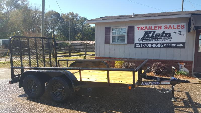 2020 Load Trail 83x12 Tandem Axle Utility Trailer