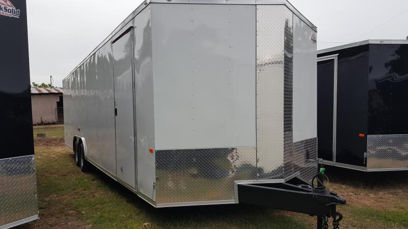2020 Rock Solid Cargo 8.5X28 5200LB Axles Enclosed Cargo Trailer