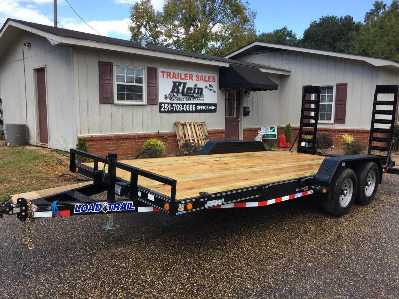 2020 Load Trail 83x18 Tandem Axle Car / Racing Trailer