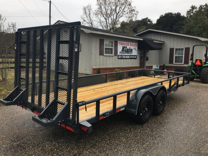 2020 Lamar Trailers 83x20 HD UT Utility Trailer