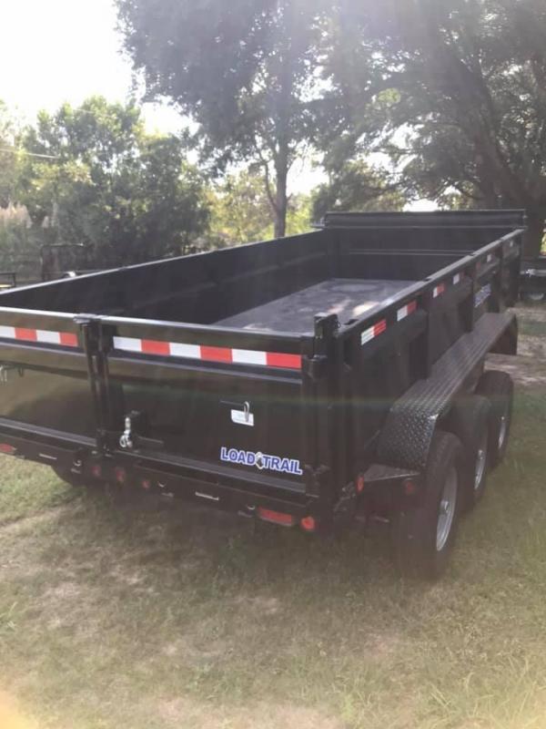 2019 Load Trail 83x16 Triple Axle Dump Trailer